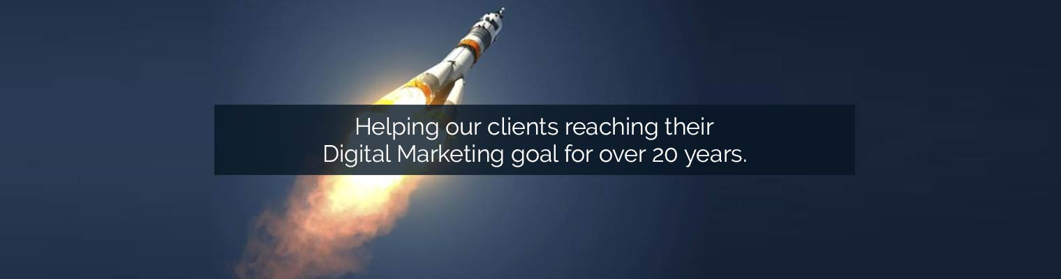 Digital Marketing Goal for Over 20 Years