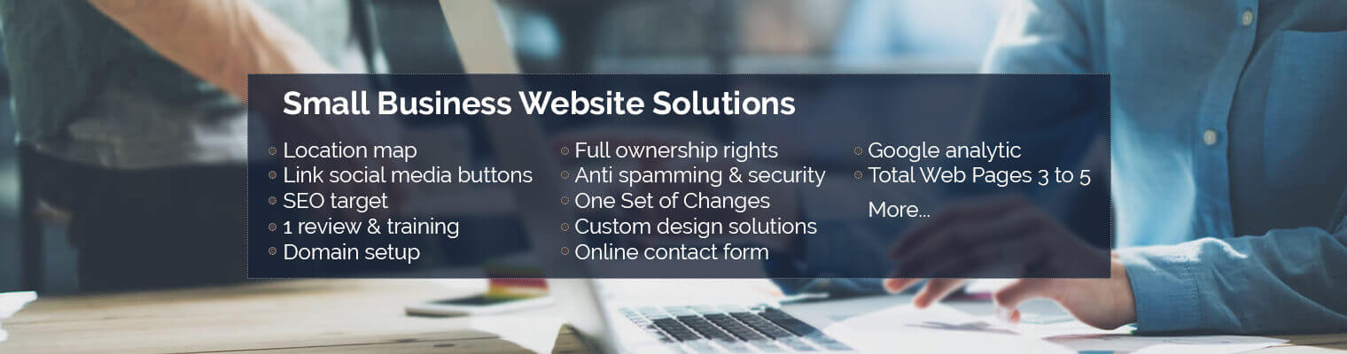 Small Business Website Solutions